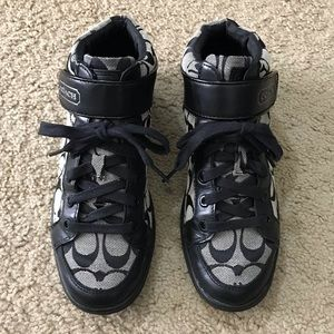 Coach Zoey Hi-Top Sneakers